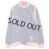 【CROOKS&CASTLES】 THE PLAYER STADIUM JACKET (NAVY)