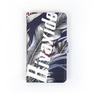 画像1: 【RIVAXIDE】 RIVAXIDE 'botanical' iPhone Case [camel mirror]