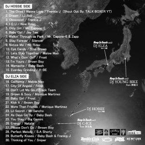 画像2: DJ HOSSIE & DJ ELZA 『Keep In Touch vol.3』