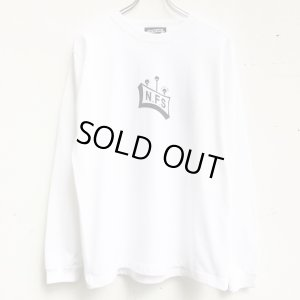 画像1: 【CRACKLIMB】 SOUTH V.I.P. LONG TEE (WHITE)