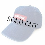 【CRACKLIMB】 NF BOX LOGO DENIM 6 PANEL CAP (INDIGO)