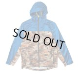 【CROOKS&CASTLES】 TRENCHES ANORAK JACKET (BLU/CAMO)