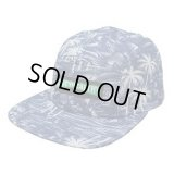 *SALE*【MIGHTY HEALTHY】 INDIGO PALMS 5 PANEL CAP