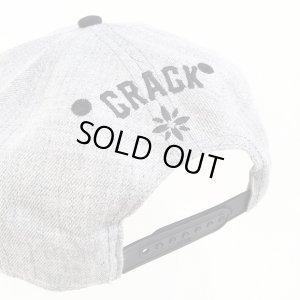 画像4: 【CRACKLIMB】 Newfunk SNAPBACK CAP (GRY/BLK)