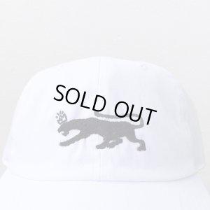 画像2: 【CRACKLIMB】 BLACK PANTHER 6 PANEL CAP (WHITE)