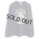 【CRACKLIMB】 ILL MIND LONG TEE (BLACK)