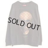 【SQUARE】 LV SKULL CREW NECK SWEAT (BLACK)