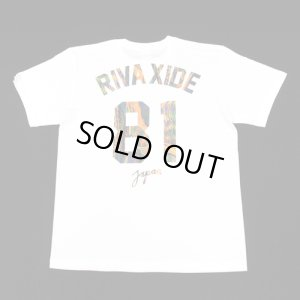 画像1: 【RIVAXIDE】 RIVAXIDE JAPAN 81 'thread' T-shirt