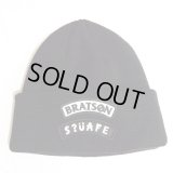 "【SQUARE】 BRATSON×SQAR COLLABO KNIT CAP ""LOGO DESIGN"""