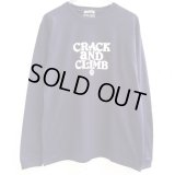 【CRACKLIMB】 HAL LONG TEE (NAVY)