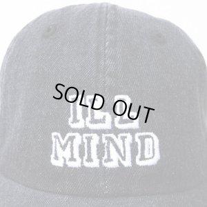 画像2: 【CRACKLIMB】 ILL MIND DENIM 6 PANEL CAP (BLACK DENIM)