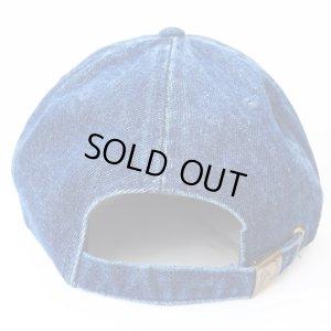 画像4: *SALE*【CRACKLIMB】 ILL MIND DENIM 6 PANEL CAP (INDIGO)