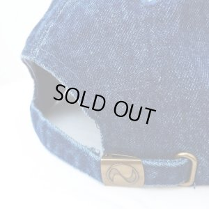 画像5: *SALE*【CRACKLIMB】 ILL MIND DENIM 6 PANEL CAP (INDIGO)