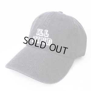 画像1: 【CRACKLIMB】 ILL MIND DENIM 6 PANEL CAP (BLACK DENIM)