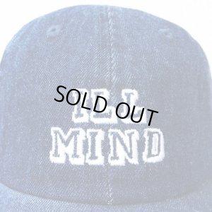 画像2: *SALE*【CRACKLIMB】 ILL MIND DENIM 6 PANEL CAP (INDIGO)