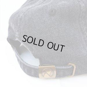 画像5: 【CRACKLIMB】 ILL MIND DENIM 6 PANEL CAP (BLACK DENIM)