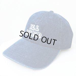 画像1: *SALE*【CRACKLIMB】 ILL MIND DENIM 6 PANEL CAP (INDIGO)