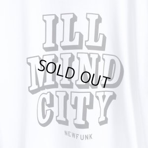 画像3: 【CRACKLIMB】 ILL MIND CITY TEE + CD-R SET (White)