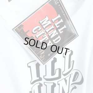 画像2: 【CRACKLIMB】 ILL MIND CITY TEE + CD-R SET (White)