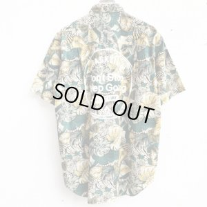 画像2: 【CRACKLIMB】 BOTANICAL PATTERN SHIRT (B/G)