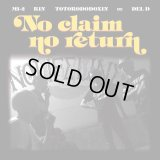 NO LIFE LINE 『No claim no return』(CD-R)