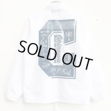 *SALE*【CRACKLIMB】EYEWASH NYLON JACKET (WHITE)