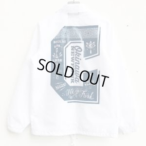 画像1: *SALE*【CRACKLIMB】EYEWASH NYLON JACKET (WHITE)