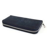 【RIVAXIDE】'PAID IN FULL' Long wallet [BLUE]