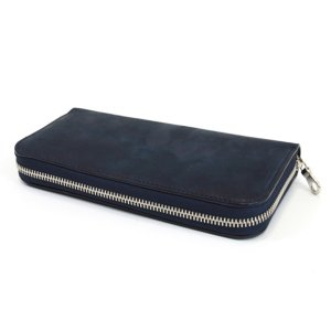 画像1: 【RIVAXIDE】'PAID IN FULL' Long wallet [BLUE]