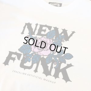 画像3: 【NEWFUNK】FLOWER TEE (WHITE)