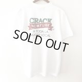 【CRACKLIMB】FLAG TEE (WHITE)