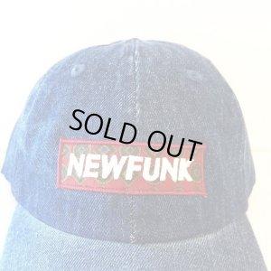 画像3: 【CRACKLIMB】NF BOX LOGO 6 PANEL CAP (DENIM)