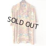 Shell Aloha Shirt / size: 2XL