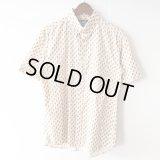 Cream Paisley Shirt / size: L