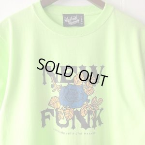 画像4: 【CRACKLIMB】FLOWER TEE (Lime Green)