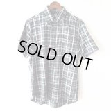 Green Check Shirt / size: M