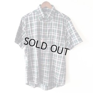 画像1: Green Check Shirt / size: M