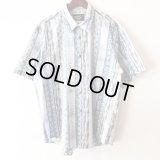 Bleu Marble Shirt / size: L