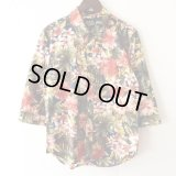 Flower Shirt / size: M