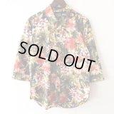 Flower Shirt / size: M