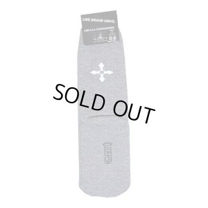 画像3: 【LIBE BRAND】BIG LOGO SOX (GRAY)