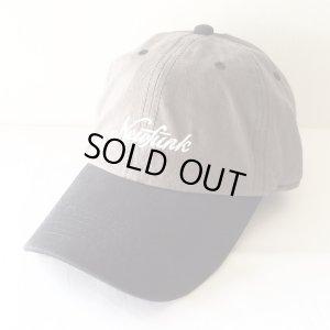 画像1: 【CRACKLIMB】'17 NEWFUNK LOGO 6 PANEL CAP (GY/BL)