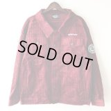 【CRACKLIMB】THICK CODYROY JACKET (WINE)