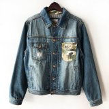 【CROOKS&CASTLES】BUCKSHOT DENIM JACKET