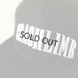 画像4: 【CRACKLIMB】ARCH CRACK SNAPBACK CAP (BLACK)