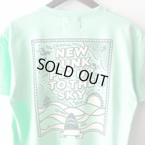 画像4: 【NEWFUNK】FLY UP TEE (MINT GREEN)