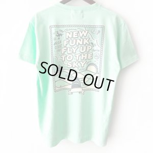 画像1: 【NEWFUNK】FLY UP TEE (MINT GREEN)