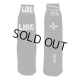 【LIBE BRAND】BIG LOGO SOX (BLACK)