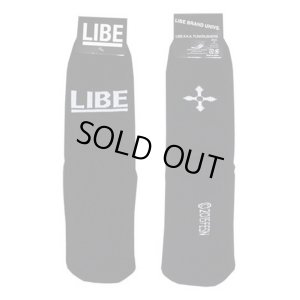 画像1: 【LIBE BRAND】BIG LOGO SOX (BLACK)