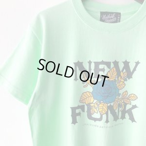 画像3: 【NEWFUNK】FLOWER TEE (MINT GREEN)